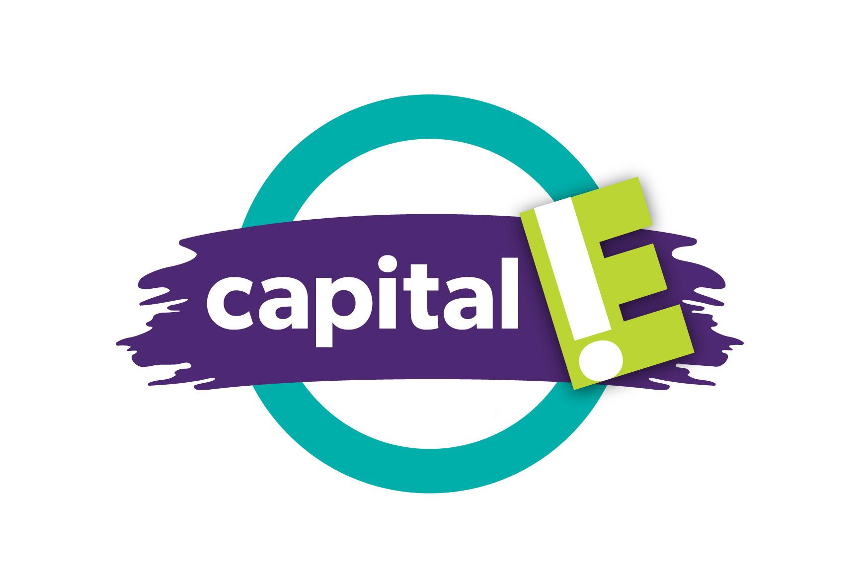Capital E.